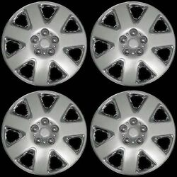 Brand New Set Of 4 15 Universal Hubcaps - Popular For Dodge And Chrysler Cars
