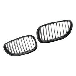 Gloss Black Front Hood Kidney Grille Fit For Bmw 5-series E60 E61 2003-2010 Best