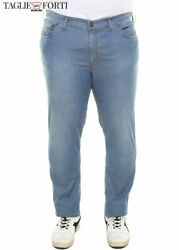 Lightweight Jeans Plus Size Stretch Trousers For Men Over. Big And Tall. Big Siz