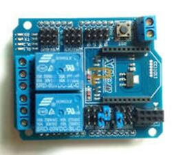 1pcs New Arduino Relay Shield 2-way Relay Expansion Board Supports Xbee