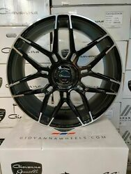 Gianelle Monte Carlo Machined Black Wheels 24x10 For Any Car/suv Range Rover Hre