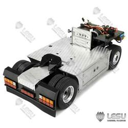 Metal 44 Chassis Differential Axles 1/14 Rc Tamiya Scania Tractor Truck Lights