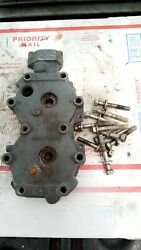 2001 Yamaha 20 25 Hp Outboard 2 Stroke Cylinder Head With Hardware