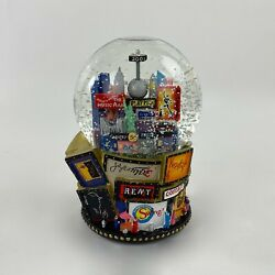 2001 New York Times Square Snow Globe Broadway Musicals Twin Towers Let It Snow