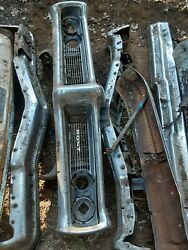 1968 Pontiac Gto Chrome Front Bumper Grill Complete Made In The Usaandnbsp