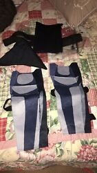 Fortnite Skull Trooper Costume Cosplay Adult Large 6 Piece Deluxe Nwt