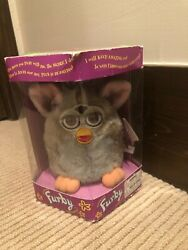 Gray Body, Brown Eyes Furby 1998, 70-800 -- Mint Condition, Never Used