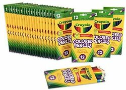 Crayola Color 24 Packs Of 12 Pencils Bright Color Art Tools Ideal For School An