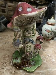 Blue Sky Clayworks Heather Goldminc Toadstool Towers With Stand