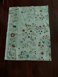 Greeff Betsy Clark Cotton Fabric Sampler Style Floral England Warner 1981 55andrdquox35
