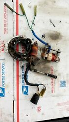 1997 Yamaha 25 Hp 30 Hp 2 Stroke 3 Cylinder Charging Coil + Stator Assembly