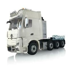 1/14 Lesu Hercules Actros Cabin Rc Metal Chassis Truck Tractor Motor Roof Light