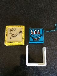 Keith Haring Signed Radio With Drawing. 1987 Pop Shop.