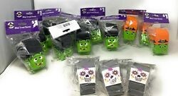 Halloween Mini Treat Boxes 6 Count - Frankenstein, Day Of Dead, Witch -lot Of 14