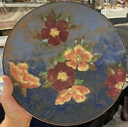 Old Royal Doulton Charger Plate-wild Rose