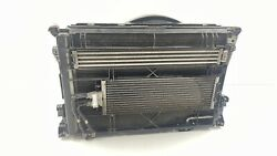 10-11 Mercedes Benz W212 E63 Amg Radiator Condenser Cooling Fan Assembly Oem