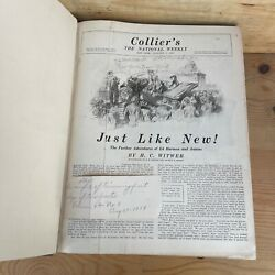 Collierand039s The National Weekly Magazine Bound Complete Year 1919