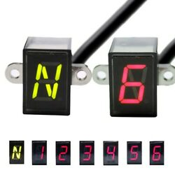 Led Tricycles Gear Indicator Light N6 Speed Shift Clutch Lever Gauge Universal