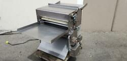 Acme Pizza Bakery Two-pass Dough Roller Sheeter Bench Model All Stainless Steel