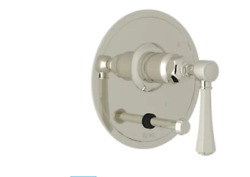 Rohl We2316lmpn Wellsford 1 Function Pressure Balanced Trim Only Polished Nickel