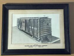 Pacific Car And Foundry Company Milwaukee Cmstpandp Boxcar Seattle Portland 1928