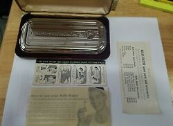 Vintage Rolls Razor For The Traveler Shaving Kit, Made In England, Collectible