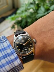Vintage Omega Officer Military Wwii - Cal 26.5 T3 - Circa 1941 - 30,5mm