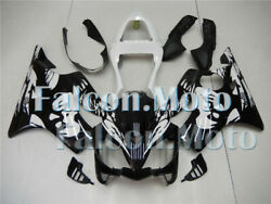 New White Black Injection Mold Fairing Fit For 2001-2003 Cbr600 F4i Plastic Abs