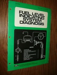 1975 Ford Fuel Level Systems Service Training Manual Shop Repair Book Diagnosis