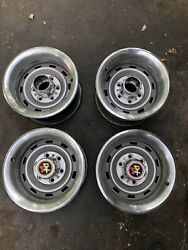 Chevrolet Gmc Truck Rally Wheels 6 Lug 15x8 K10 4x4 Chevy Gm 1970and039s 1980and039s