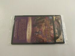Harry Potter Tcg Deviland039s Snare Promo - Sealed With Ad Card