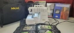 Evolution Baby Lock Sewing/serger Machine W/ 16 Feet Accessory Pack