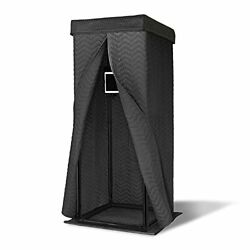 Ultimate Vocal Booth Andmdash Portable Pop Up Home Studio For Voice Recordings Andmdash