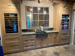 Pool/bar Cabinetry With Subzero Appliance