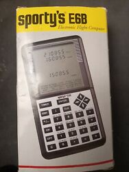 Vgt Sportyandrsquos E6b Electronic Flight Computer With Case Manual New In Box