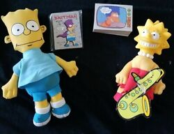 The Simpsons Trading Card Bundle. 88 Cards W/ 17 Stickers... Nm Plus Bart/lisa