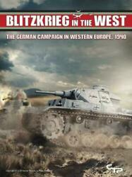 Blitzkrieg In The West Canvas Temple Wwii Wargame New Sealed