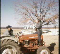 Lot Of Vintage 35mm Slides Qty 7 Ford 601 Workmaster Tractor Farmer