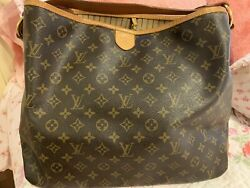 Louis Vuittons Handbags Authentic Used Delightful Mm