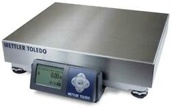 Mettler Toledo Bc-60 Shipping Scale Ss Platter With Usb And Serial Cable