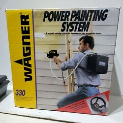 Wagner Power Painting System 330 Backpack New Open Box