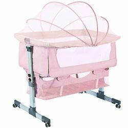 Bedside Sleeper Bedside Cribs Baby Bassinet 3 In 1 Travel Baby Crib Baby Bed