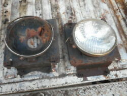 1973 Ford Truck Round Headlight Buckets Oem Used  Free Shipping