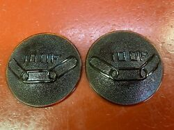 Vintage Ford Model A Independent Order Of Odd Fellows Tail Light Lens Pair