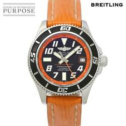 Breitling Super Ocean 42 A17364 Used Watch Limited Men's Date Blk Dial Auto Ec