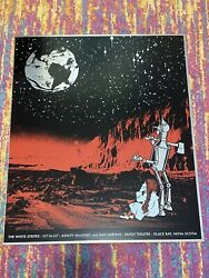Rob Jones 2007 The White Stripes Glace Bay, Ns S/n Metal Concert Poster 32/175
