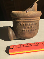 Antique Hand Water Well Ay-mcdonald Conductor Diverter Cup Windmill Pump