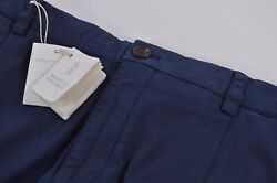Brunello Cucinelli Nwt Chinos / Casual Pants Size 56 40 Us In Blue Traditional