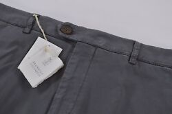 Brunello Cucinelli Nwt Chinos / Casual Pants Size 56 40 Us Gray Traditional Fit