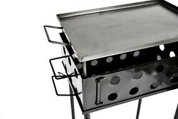 Argentinian Grill Bbq Charcoal Asado Portable Size Outdoor Garden Grill Barbacue